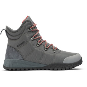 Columbia Fairbanks Omni-Heat Buty Mężczyźni, ti grey steel/red jasper